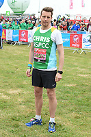 Chris Harper at the start of the 2017 London Marathon on Blackheath Common, London, UK. <br /> 23 April  2017<br /> Picture: Steve Vas/Featureflash/SilverHub 0208 004 5359 sales@silverhubmedia.com