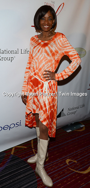 Adriane Lenox attends the 80th Annual Drama League Awards Ceremony and Luncheon on May 16, 2014 at the Marriot Marquis Hotel in New York City, New York, USA.