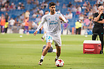 Real Madrid's Marco Asensio during XXXVIII Santiago Bernabeu Trophy at Santiago Bernabeu Stadium in Madrid, Spain August 23, 2017. (ALTERPHOTOS/Borja B.Hojas)