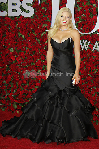 NEW YORK, NY-June 12: Megan Hilty at the 70th Annual Tony Awards at the Beacon Theatre in New York. NY June 12, 2016. Credit:RW/MediaPunch