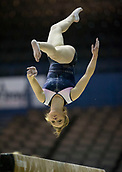21st March 2018, Arena Birmingham, Birmingham, England; Gymnastics World Cup, day one, womens competition; Alice Kinsella (GBR) on the Balance Beam during  Training