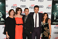 Joanne Schermerhorn, Alison Brie, Dave Franco, James Franco &amp; Betsy Franco-Feeney at the AFI Fest premiere for &quot;The Disaster Artist&quot; at the TCL Chinese Theatre. Los Angeles, USA 12 November  2017<br /> Picture: Paul Smith/Featureflash/SilverHub 0208 004 5359 sales@silverhubmedia.com