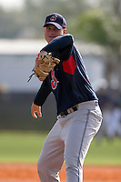 Cleveland Indians minor leaguer Jake Dittler during Spring Training at the Chain of Lakes Complex on March 16, 2007 in Winter Haven, Florida.  (Mike Janes/Four Seam Images)