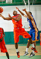 April 10, 2011 - Hampton, VA. USA;  Kethan Savage participates in the 2011 Elite Youth Basketball League at the Boo Williams Sports Complex. Photo/Andrew Shurtleff
