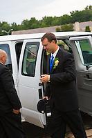 7/28/12 2:10:30 PM - Fairless Hills, PA. -- Andrea & Dan - July 28, 2012 in Fairless Hills, Pennsylvania. -- (Photo by Joe Koren/Cain Images)