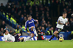 Chelsea's Eden Hazard fires in a shot<br /> <br /> Barclays Premier League- Chelsea vs Everton  - Stamford Bridge - England - 11th February 2015 - Picture David Klein/Sportimage