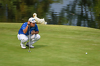 Hideki Matsuyama (JPN) looks over his putt on 17 during round 4 of the World Golf Championships, Mexico, Club De Golf Chapultepec, Mexico City, Mexico. 2/24/2019.<br /> Picture: Golffile | Ken Murray<br /> <br /> <br /> All photo usage must carry mandatory copyright credit (© Golffile | Ken Murray)