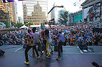Nomadic Massive at Robson Square June 22, 2014 TD Vancouver International Jazz Festival