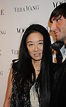 LOS ANGELES, CA. - March 02: Vera Wang and Figure skater Evan Lysacek attend the Vera Wang Store Launch at Vera Wang Store on March 2, 2010 in Los Angeles, California.