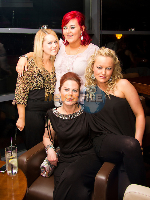 Susan Moore, Joanne Cooney, Cheryl Sarsfield and Paula Cassidy in Bru..Picture: Shane Maguire / www.newsfile.ie.
