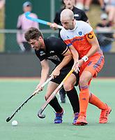 Aidan Sarikaya. Pro League Hockey, Vantage Blacksticks v Netherlands. Harbour Hockey, Auckland, New Zealand. Sunday 27 January 2019. Photo: Simon Watts/Hockey NZ
