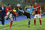 Egypt's Al Ahly and Jordan's Al-Faisaly compete during Arab Club championship at Al-Salam Stadium in Cairo, Egypt on July 22, 2017. Photo by Amr Sayed