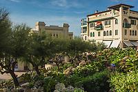 France, Aquitaine, Pyrénées-Atlantiques, Pays Basque, Biarritz: Le Casino Municipal monument Art Déco  et immeuble art déco //  France, Pyrenees Atlantiques, Basque Country: the city casino and building art deco