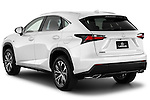 Car pictures of rear three quarter view of a 2015 Lexus NX NX 200t F SPORT 5 Door SUV Angular Rear