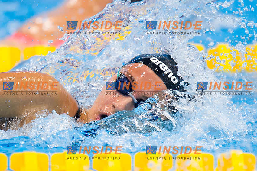 QUADARELLA Simona ITA<br /> London, Queen Elizabeth II Olympic Park Pool <br /> LEN 2016 European Aquatics Elite Championships <br /> Swimming<br /> Women's 1500m freestyle preliminary<br /> Day 12 20-05-2016<br /> Photo Giorgio Perottino/Deepbluemedia/Insidefoto
