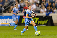 Chicago, IL - Saturday Sept. 24, 2016: Vanessa DiBernardo during a regular season National Women's Soccer League (NWSL) match between the Chicago Red Stars and the Washington Spirit at Toyota Park.