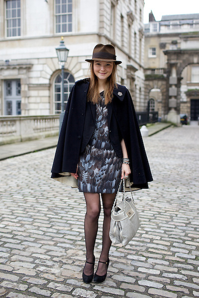 Amber Atherton at London Fashion Week February 2011