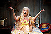 Grey Gardens<br /> Book by Doug Wright<br /> Music by Scott Frankel<br /> Lyrics by Michael Korie<br /> produced by Danielle Tarento<br /> at The Southwark Playhouse, London, Great Britain <br /> press photocall<br /> 7th January 2016 <br /> <br /> directed by Thom Southerland<br /> <br /> <br /> Sheila Hancock as Edith Bouvier Beale<br /> <br /> <br /> Photograph by Elliott Franks <br /> Image licensed to Elliott Franks Photography Services
