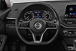Car pictures of steering wheel view of a 2019 Nissan Altima SV 4 Door Sedan Steering Wheel