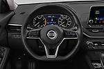 Car pictures of steering wheel view of a 2019 Nissan Altima SV 4 Door Sedan Steering Wheel