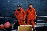 Fishermen. Skågaströnd, Iceland.