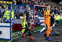 Burnley's Thomas Heaton leads his side out<br /> <br /> Photographer Andrew Kearns/CameraSport<br /> <br /> The Premier League - Huddersfield Town v Burnley - Wednesday 2nd January 2019 - John Smith's Stadium - Huddersfield<br /> <br /> World Copyright © 2019 CameraSport. All rights reserved. 43 Linden Ave. Countesthorpe. Leicester. England. LE8 5PG - Tel: +44 (0) 116 277 4147 - admin@camerasport.com - www.camerasport.com