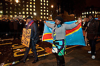 06.12.2011 - Congolese Protest in Whitehall - I Day