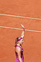 Kiki Bertens, Netherlands, during Madrid Open Tennis 2018 match. May 11, 2018.(ALTERPHOTOS/Acero) /NORTEPHOTOMEXICO