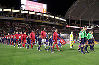 Carson, CA - Sunday January 28, 2018: United States (USA) prior to an international friendly between the men's national teams of the United States (USA) and Bosnia and Herzegovina (BIH) at the StubHub Center.