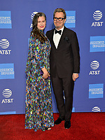 PALM SPRINGS, CA. January 03, 2019: Gary Oldman &amp; Gisele Schmidt at the 2019 Palm Springs International Film Festival Awards.<br /> Picture: Paul Smith/Featureflash
