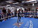 Boxing: Kazuto Ioka of Japan during media workout in Santa Monica