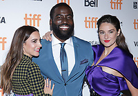 """TORONTO, ONTARIO - SEPTEMBER 08: Sebastian Stan, Shailene Woodley, Jamie Dornan attends """"Endings, Beginnings"""" premiere during the 2019 Toronto International Film Festival at Ryerson Theatre on September 08, 2019 in Toronto, Canada. <br /> CAP/MPI/IS/PICJER<br /> ©PICJER/IS/MPI/Capital Pictures"""