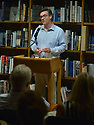 """CORAL GABLES, FL - APRIL 16: Author Liam Callanan Promotes and sign copies of his new book """"Paris by the Book"""" at Books & Books on April 16, 2019 in Coral Gables, Florida. ( Photo by Johnny Louis / jlnphotography.com )"""