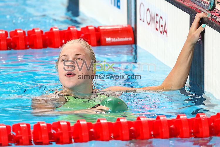 Picture by Alex Whitehead/SWpix.com - 08/08/2015 - Swimming - 16th FINA World Swimming Championships 2015 - Kazan Arena Stadium, Kazan, Russia - Lithuania's Ruta Meilutyte.