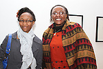 Liz Mua and Helen Wachira at the Reception for the Kenyan Ambassador to Ireland in the Droichead Arts Centre...(Photo credit should read Jenny Matthews www.newsfile.ie)....This Picture has been sent you under the condtions enclosed by:.Newsfile Ltd..The Studio,.Millmount Abbey,.Drogheda,.Co Meath..Ireland..Tel: +353(0)41-9871240.Fax: +353(0)41-9871260.GSM: +353(0)86-2500958.email: pictures@newsfile.ie.www.newsfile.ie.