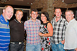 Charles, Paul Moran, Aaron Murray, Yvonne Murray, Keith Smith and Roy McKenna in the Pheasant.<br /> Picture: Shane Maguire / Newsfile.ie