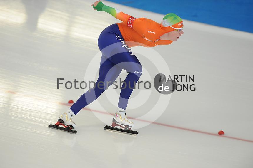 SCHAATSEN: INZELL: Max Eicher Arena, 10-02-2013, Essent ISU World Cup, Season 2012-2013, 3000m Ladies, A-division, Marije Joling (NED), ©foto Martin de Jong