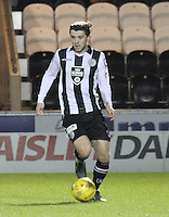 Jordan Stewart in the St Mirren v Falkirk Scottish Professional Football League Ladbrokes Championship match played at the Paisley 2021 Stadium, Paisley on 1.3.16.
