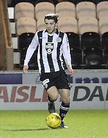 Jordan Stewart in the St Mirren v Falkirk Scottish Professional Football League Ladbrokes Championship match played at the Paisley 2021 Stadium, Paisley on 1.3.16.