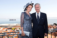 King Philippe of Belgium and Queen Mathilde of Belgium, on a State Visit to Lisbon, Portugal