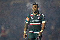 Manu Tuilagi of Leicester Tigers. European Rugby Champions Cup match, between Leicester Tigers and Munster Rugby on December 17, 2017 at Welford Road in Leicester, England. Photo by: Patrick Khachfe / JMP