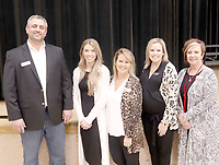LYNN KUTTER ENTERPRISE-LEADER<br /> Officers for Prairie Grove Area Chamber of Commerce this year are President Dale Reed, Shannon Stearman, Ashley Taylor, Paul Ditmar and ???