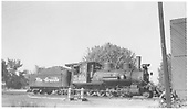 Engineer's-side view of C-19 #340 at Montrose engine house.<br /> D&amp;RGW  Montrose, CO