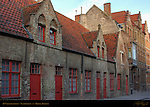 16th century Houses on Vlamingdam, Bruges, Brugge, Belgium
