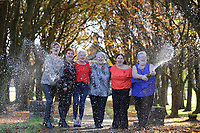 Pictured L-R: Julie Amphlett, Julie Saunders, Doreen Thompson, Jean Cairns, Louise Ward and SIan Jones. Wednesday 08 November 2017<br />