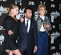 NEW YORK, NY February 07, 2018:Charlotte McKinney, Danny A. Abeckaser, AnnaLynne McCord attend the New York premere of First We Take Brooklyn hosted by 28 Flims and Danny A. Abeckaser at Regal Battery Park in New York. February 07, 2018. <br /> CAP/MPI/RW<br /> &copy;RW/MPI/Capital Pictures