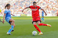 Bridgeview, IL - Sunday June 12, 2016: Christine Sinclair during a regular season National Women's Soccer League (NWSL) match between the Chicago Red Stars and the Portland Thorns at FC Toyota Park.