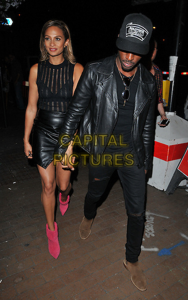 LONDON, ENGLAND - JULY 23: Alesha Dixon &amp; Azuka Ononye attend the RUComingOut.com summer party, Royal Vauxhall Tavern, Kennington Lane, on Thursday July 23, 2015 in London, England, UK.  <br /> CAP/CAN<br /> &copy;Can Nguyen/Capital Pictures