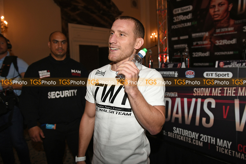 Ryan Walsh during a Press Conference at the Landmark Hotel on 18th May 2017