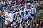 Real Madrid bus during the celebration of the 13th UEFA Championship in Madrid, June 04, 2017. Spain.<br /> (ALTERPHOTOS/BorjaB.Hojas)